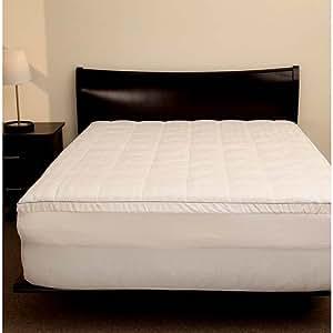 "2"" Memory Foam Mattress Topper with Pillow Top Zip Cover- Twin"