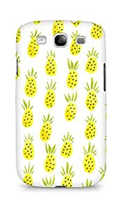 Amez designer printed 3d premium high quality back case cover for Samsung Galaxy S3 Neo (Pineapple Pattern)