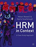 img - for Human Resource Management in Context: A Case Study Approach book / textbook / text book