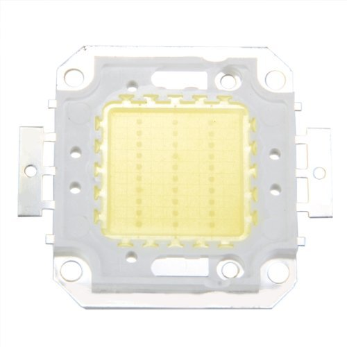 Sodial(R) 30W White Led Ic High Power Outdoor Flood Light Lamp Bulb Beads Chip Diy 2200Lm