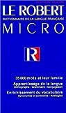 Le petit Robert micro par Le Robert