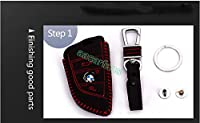 DOBREV DISTRIBUTION ® BMW Genuine Leather Remote Key Fob Case Protector Holder from Xin Xin
