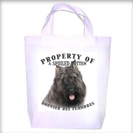 Bouvier des Flandres Property Shopping - Dog Toy - Tote Bag