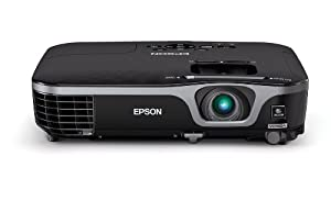 Epson EX7210 Projector (Portable WXGA 720p Widescreen 3LCD, 2800 lumens color brightness, 2800 lumens white brightness, HDMI, rapid setup)