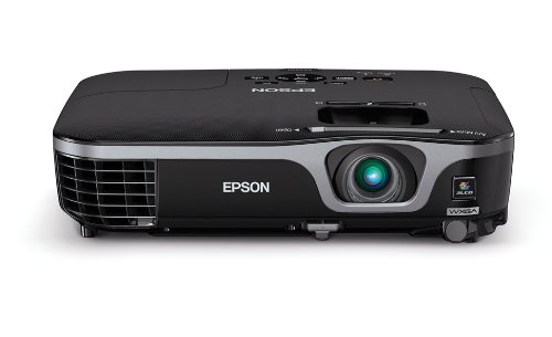 Epson EX7210 Projector (Vest-pocket WXGA 720p Widescreen 3LCD, 2800 lumens color brightness, 2800 lumens unblemished brightness, HDMI, rapid setup)