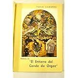 Historia del cuadro del Greco : El entierro del Conde de Orgaz