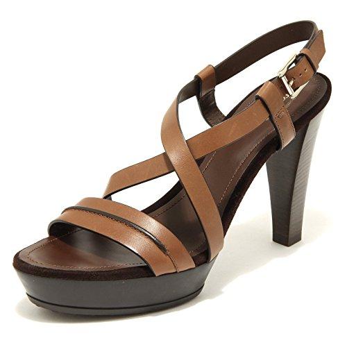 2831H sandali donna TOD'S plat gomma fasce incroc scarpe shoes women [39.5]