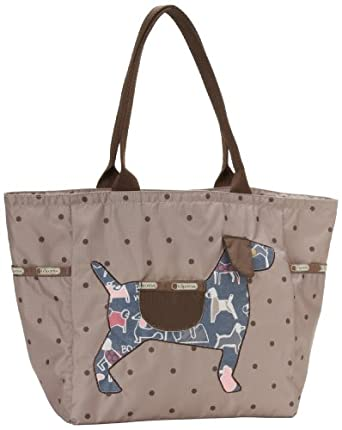 LeSportsac Picture Tote,Dog,One Size