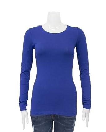 Excellent Women In Royal Blue High Low Shirt Dress