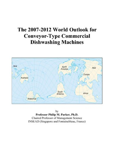 The 2007-2012 World Outlook For Conveyor-Type Commercial Dishwashing Machines front-548771