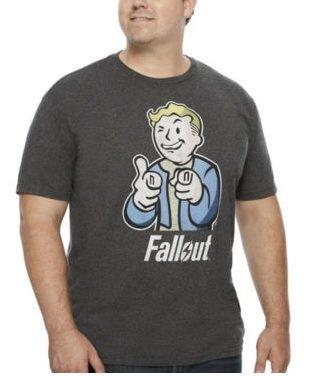 Fallout 4 メンズライセンスフォールアウト 4 Tシャツ 3XL(130-142cmcm 胸回り) [並行輸入品]