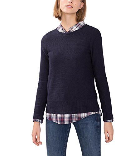ESPRIT 096EE1I033, Felpa Donna, Blu (Navy 5), Medium
