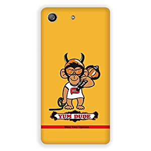 "Wear Your Opinion Graphic Print Mobile Back Cover Case / Phone Cover ""YUM DUDE"" For Sony M5"