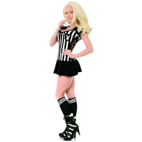 Racy Referee Costume - X-Small - Dress Size 2-4