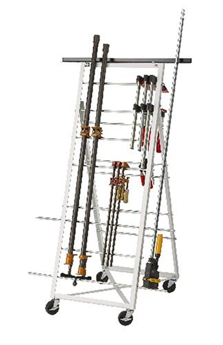 Htc Hcr 160 Deluxe Mobile Clamp Rack With Extensions Bar Clamp