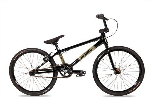 Dk Expert Bmx Bike With Gold Rims (Black, 20-Inch)