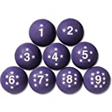 Voit Numbered Playground Balls Set