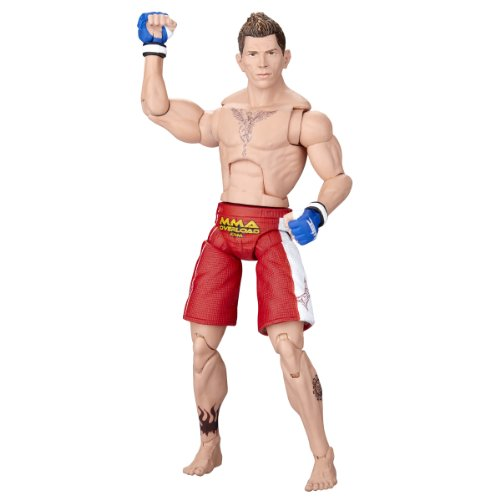Buy Low Price Jakks Pacific UFC Deluxe Figures – Mike  Brown WEC 36 series 2 (B002A7WD4W)