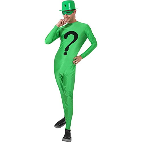 Adult Riddle Man Costume (Size: Adult Standard)