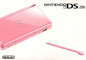 nintendo ds lite coral pink artist not provided video games. Black Bedroom Furniture Sets. Home Design Ideas