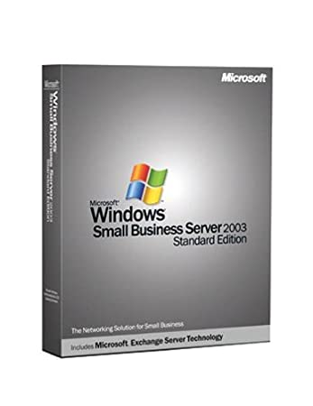 Microsoft Windows Small Business Server Standard 2003 (5 Client) [Old Version]