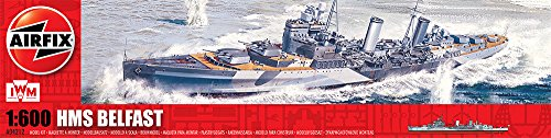 Airfix 04212 - HMS BELFAST, 250 pezzi [Lingua inglese]