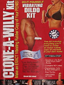 Clone A Willy Clone a Willy, Vibrating Dildo Kit 1 kit
