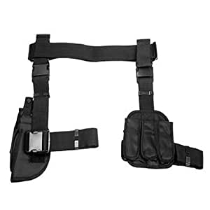 VISM by NcStar 3-Piece Drop Leg Gun Holster and Magazine Holder (CV2908)