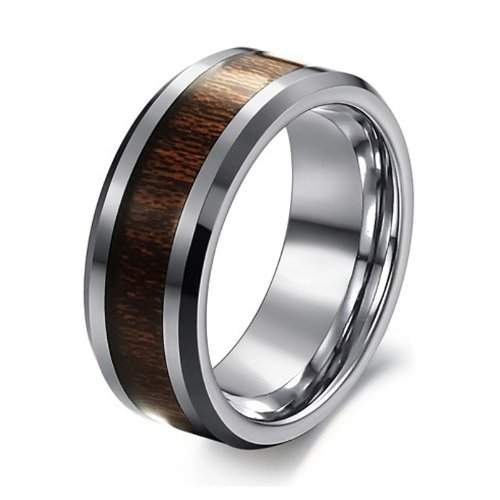 The Lord of Rings Fashion Tungsten Carbide Ring Toy Game Ring Mens Jewelry Gold Black Silver Celtic Dragon (137, 9)