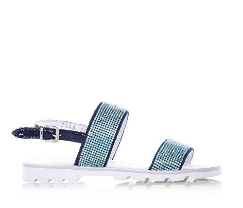 CIAO BIMBI - Sandalo blu, in pelle, curato in ogni dettaglio ed in grado di coniugare stile, qualità, ragazza, Bambina-30