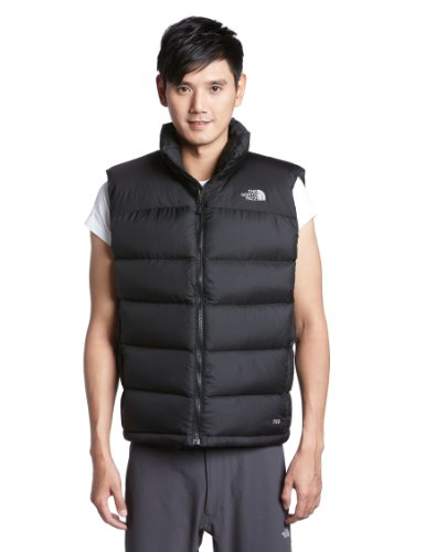 The North Face Men's Nuptse Down Vest - TNF Black, Small
