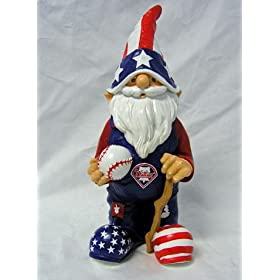 Forever Collectibles MLB Philadelphia Phillies Patriotic Gnome