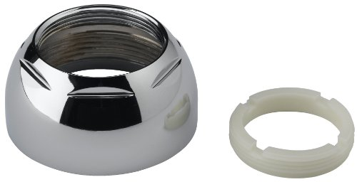 Delta Faucet RP50 Cap Assembly with Adjusting Ring, Chrome