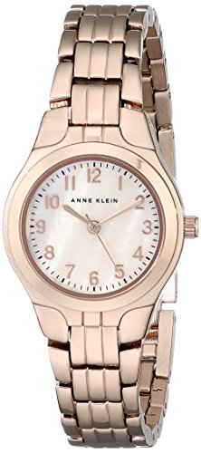 Anne Klein Women's 10/5490RMRG Easy To Read Dial Rose Gold-Tone Bracelet Watch
