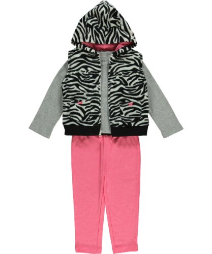 Carter'S Baby Girls Micro Vest - Animal Print - 18 Months front-159655