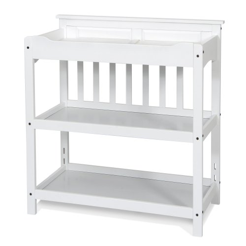 Child Craft Logan Dressing Table, Matte White