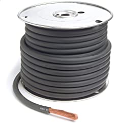 Grote Battery Cable - Type SGR 25' Spool Gauge 4, 82-5714