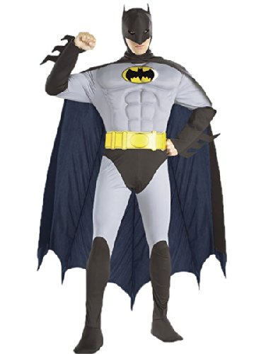 Muscle Chest The Batman Costume For Adults
