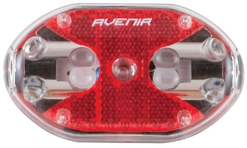 Avenir Reflect Bright Five LED Taillight (Red, 5-LED)
