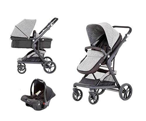 Baby-Elegance-Mist-Travel-System-3-In-1-prams-with-car-seat