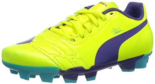 Puma evoPOWER 4 FG Jr Unisex-Kinder Fußballschuhe