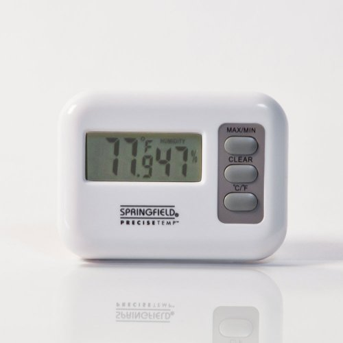 Springfield Digital Indoor Thermometer With Hygrometer