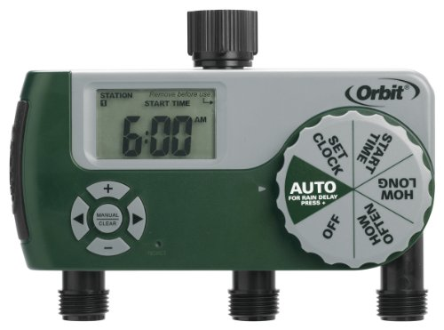 Orbit-Irrigation-56082-3-Port-Digital-Hose-Tap-Timer-with-Dial