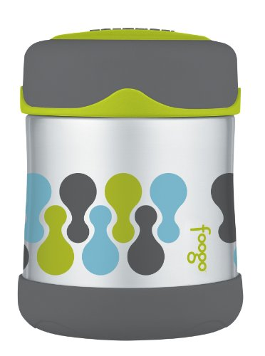 Thermos FOOGO Stainless Steel Food Jar, Tripoli, 10 Ounce