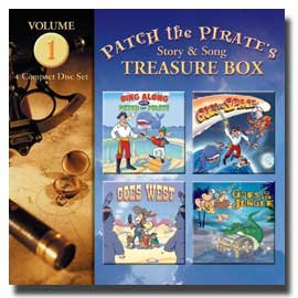 0909129 Patch the Pirate's Treasure Box - Vol. 1, Ron Hamilton