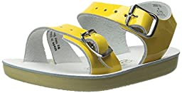 Salt Water Sandals by Hoy Shoe Sea Wees,Shiny Yellow,4 M US Toddler