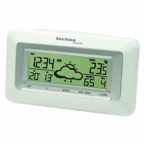 WetterDirekt Wecker WD 1080 mit Innentemperaturanzeige und Wettervorhersage