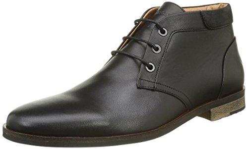 SchmooveDirtydandy Desert Crust - Desert boots  stivali al ginocchio Uomo , nero (Noir (Black 15)), 45 EU