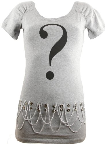 Love Moschino Women's Grey T-Shirt