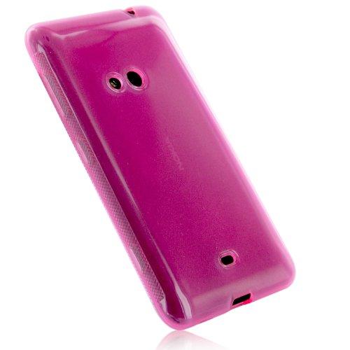 Nokia Lumia 625 Hülle in Pink - Schutzhülle Case Tasche für Nokia Lumia 625